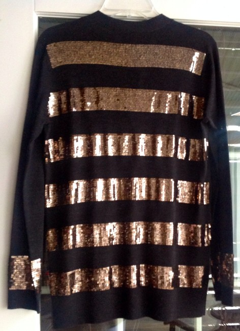 Rachel Roy It Is A Steal At This Price Black/gold Blazer