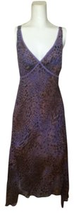 Purple leopard Maxi Dress by Betsey Johnson