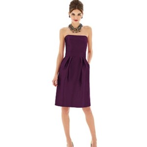 Alfred Sung Purple Dress