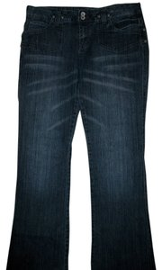 Mudd Boot Cut Jeans-Dark Rinse
