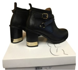 Topshop Black with gold accent Boots