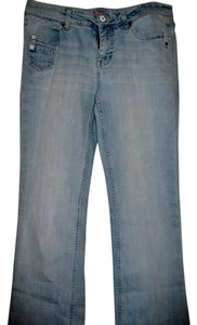 No Boundaries Boot Cut Jeans-Light Wash