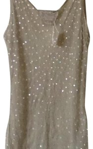 Bonnie Strauss Beaded Top Soft pastel green