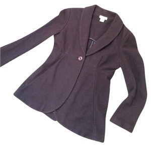 Barneys New York Cashmere Jacket Brown Blazer