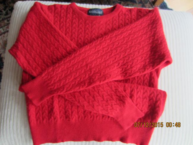 Nordstrom Cable Knit Cashmere Longsleeve Vintage Sweater