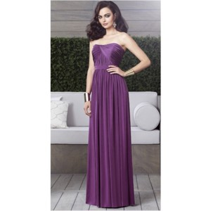 0a712dd67c Dessy African Violet Jersey Casual Bridesmaid Mob Dress Size 8 (M)