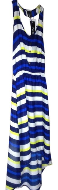 Preload https://item5.tradesy.com/images/navy-and-royal-blue-yellow-and-white-stripes-high-low-cocktail-dress-size-2-xs-990869-0-0.jpg?width=400&height=650