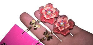 Betsey Johnson Betsey Johnson flower earrings