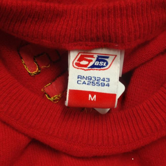 Fifty 5 DSL Luxury Vintage Top Red & Yellow