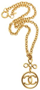 Chanel Chanel Gold CC Logo Necklace
