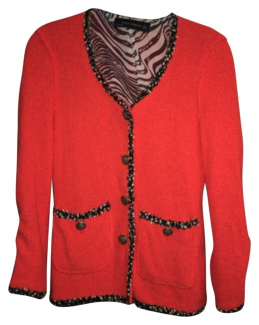 Item - Red with A Hint Of Orange Blazer Size 8 (M)