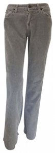 7 For All Mankind Boot Cut Pants gray