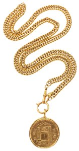 Chanel Chanel Gold 31 Rue Cambon Medallion Belt/Necklace