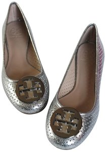 Tory Burch PEWTER METALLIC Flats