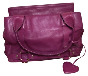 Juicy Couture Satchel in Fucsia