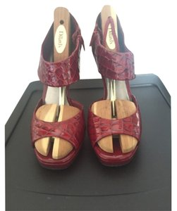 Gianni Bini Ferrari red Platforms
