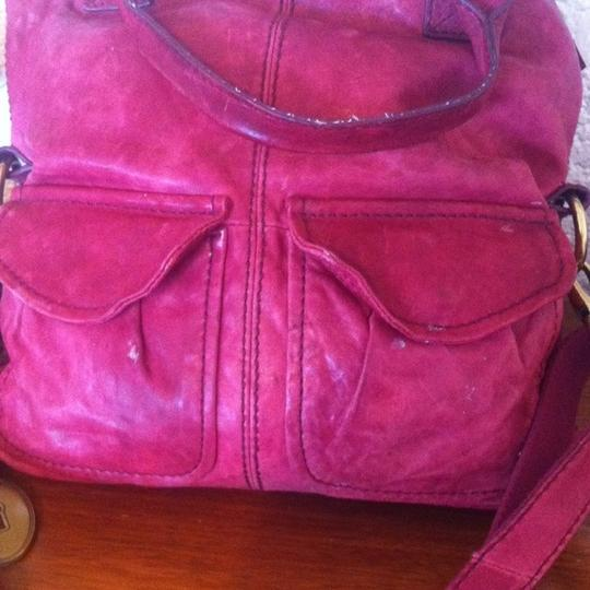 Fossil Leather Convertible Modern Cargo Cross Body Bag