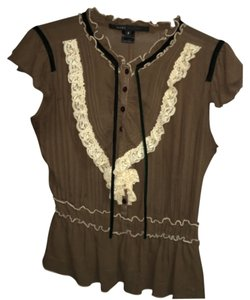 Marc Jacobs Top Brown