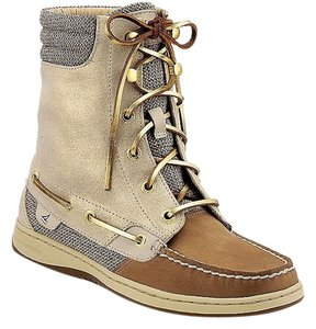 Sperry Nib Nwt Top-sider Gold Boots