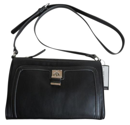 Nine West Leather Crossbody Shoulder Bag