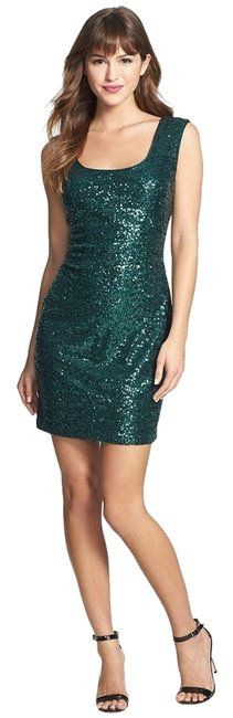 Preload https://img-static.tradesy.com/item/9912229/guess-green-sequin-tank-above-knee-cocktail-dress-size-6-s-0-1-650-650.jpg
