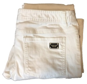 Michael Kors Straight Pants white