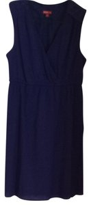 Merona short dress Blue on Tradesy