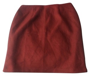 Sheri Martin Skirt Red and black