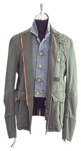 Dsquared2 green Womens Jean Jacket