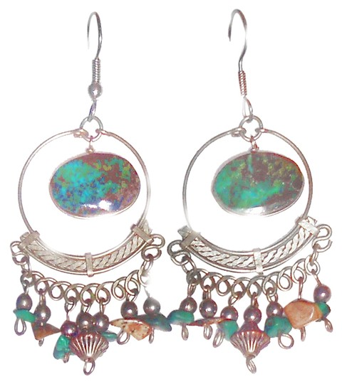 Preload https://item3.tradesy.com/images/turquoise-hook-2-real-silver-earrings-9913252-0-1.jpg?width=440&height=440
