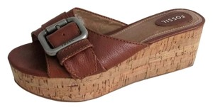 Fossil Brown Sandals