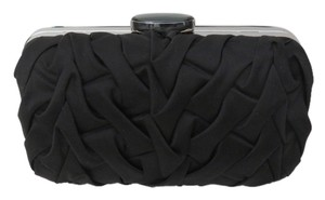 Cache Satin Dressy Black Clutch