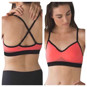 Lululemon New With Tags Lululemon Hold Your Om Part ii Sports Bra Grapefruit Size 8