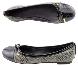 Tory Burch Black/Grey Flats