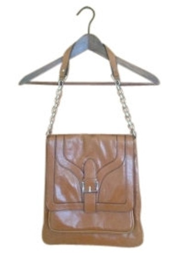 Preload https://item1.tradesy.com/images/urban-outfitters-shoulder-buckle-carameltan-vegan-leather-satchel-9915-0-0.jpg?width=440&height=440