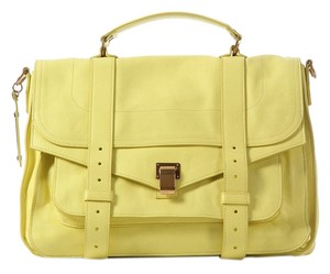 Proenza Schouler Ps.j1116.20 Large Lemon Ps1 Satchel
