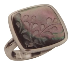 Silpada New Silpada Lip Shell & Sterling Silver Ring R2389 Size 7