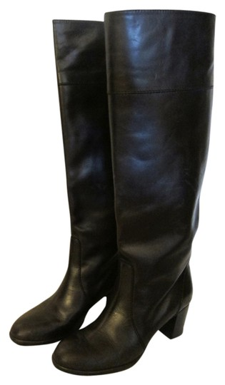 J.Crew Booker Midheel Boots Leather Boots