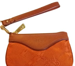 Ralph Lauren New Ralph Lauren Nylon/leather Wristlet