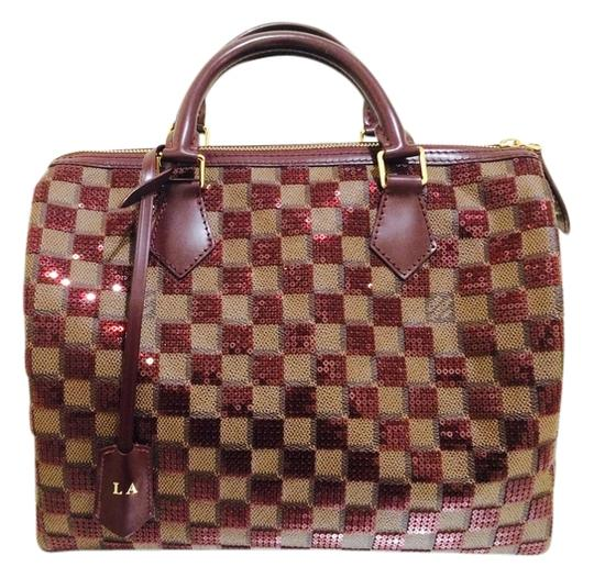 Preload https://item4.tradesy.com/images/louis-vuitton-speedy-lv-damier-30-limited-edition-sequin-tote-9916033-0-1.jpg?width=440&height=440