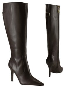 Ralph Lauren Tall Boot Dark Brown Boots