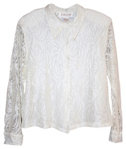 Vintage Lace Sale Top White
