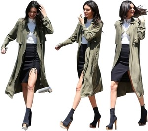 Forever 21 Contemporary Life In Progress Trench Coat
