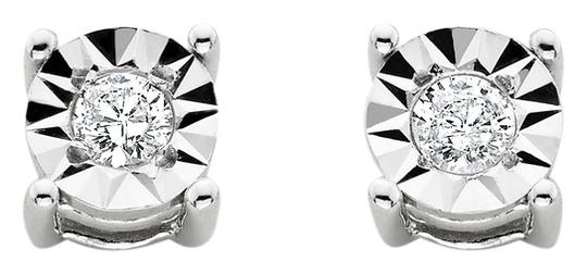 Preload https://item3.tradesy.com/images/sterling-silver-new-110-cttw-diamond-stud-earrings-9917347-0-1.jpg?width=440&height=440