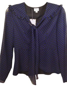 Alice Temperley for Target Polyester Longsleeve New Top Polka Dot