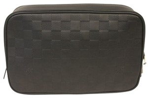 Louis Vuitton Louis Vuitton Damier Infini Travel Leather Pouch N23347 Unisex $1295