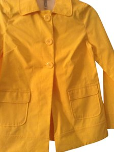 Old Navy Button Front Yellow Jacket