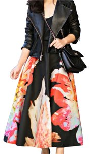 H&M Maxi Skirt Black