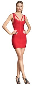Hervé Leger Bodycon Structured Body Herve Dress