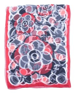 Chanel Chanel Floral Long Silk Scarf